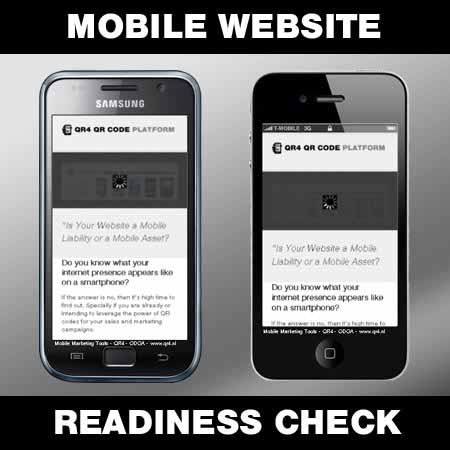 Mobile Website Readiness Check